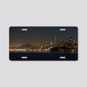 san francisco Aluminum License Plate