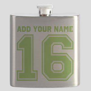 Custom 16th Birthday Flask