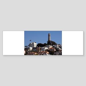 san francisco Sticker (Bumper)