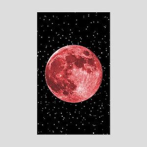 Blood Moon Sticker (Rectangle)