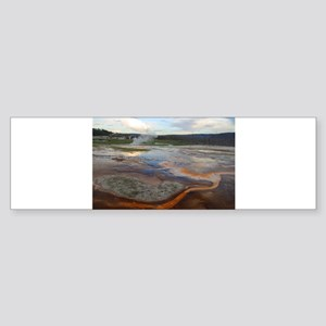 yellowstone national park Sticker (Bumper)