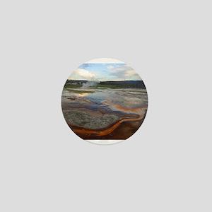yellowstone national park Mini Button