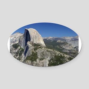 yosemite national park/ Oval Car Magnet