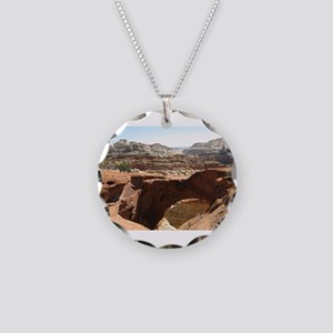 capitol reef Necklace Circle Charm