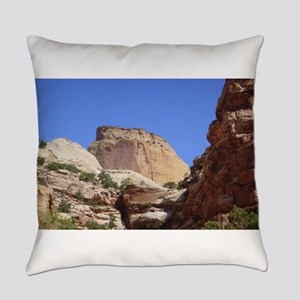 capitol reef Everyday Pillow