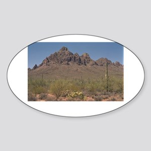 IRONWOOD FOREST. Sticker (Oval)