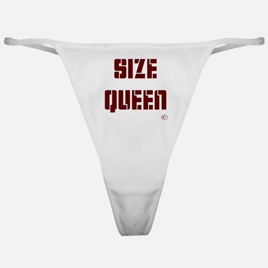 Size Queen Classic Thong
