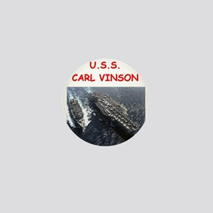 uss carl vinson Mini Button