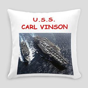 uss carl vinson Everyday Pillow