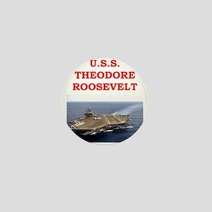 theodore roosevelt Mini Button