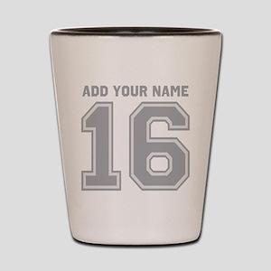 Custom 16th Birthday Shot Glass