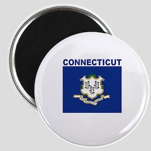 Conencticut Flag Magnet