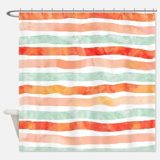Unique Lines Shower Curtain