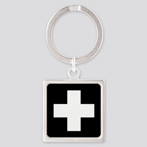 Medical Cross Symbol Keychains