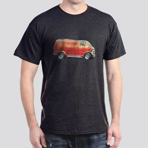 1970s Custom Van (vintage distressed look) T-Shirt