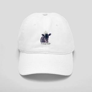 619199ab286 Cow Art Heifer Princess Cap