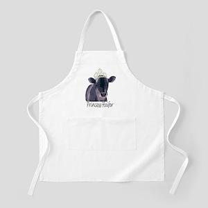 Cow Art Heifer Princess BBQ Apron