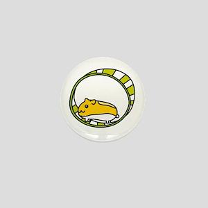 A Hamster Life Mini Button