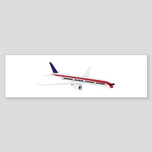 Airplane Jet Bumper Sticker
