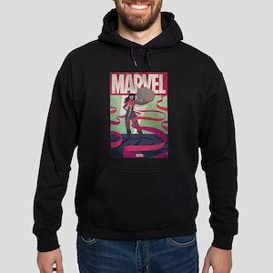 Ms. Marvel Retro Hoodie (dark)