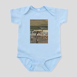 Beach Scene - Winslow Homer Body Suit