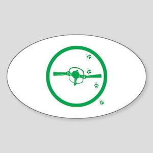 Trapper Sticker (Oval)