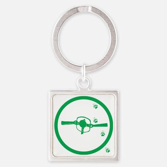 Trapper Square Keychain