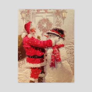 Santa and Snowman Twin Duvet