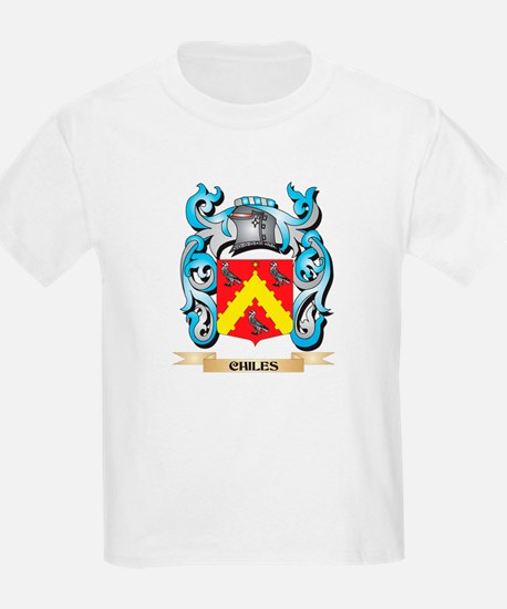 Chiles Coat of Arms - Family Crest T-Shirt