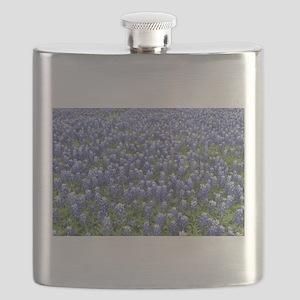 Bluebonnets Flask