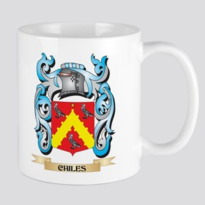 Chiles Coat of Arms - Family Crest Mugs