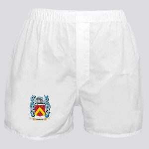 Chiles Coat of Arms - Family Crest Boxer Shorts