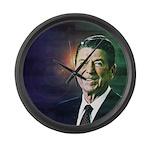 Patriot Ronald Reagan Large Wall Clock