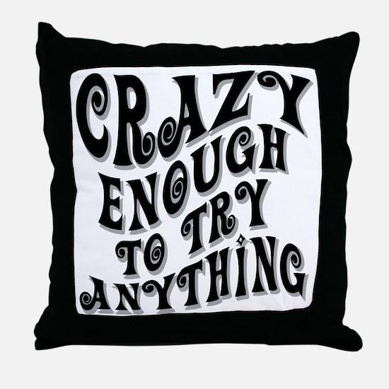 Cute Adrenaline junkie Throw Pillow