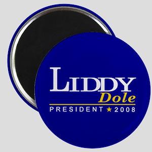 LIDDY DOLE PRESIDENT 2008 Magnet
