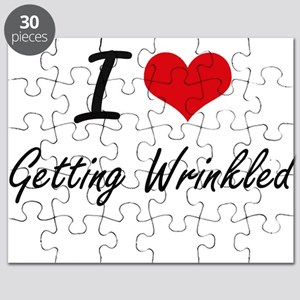 I love Getting Wrinkled Puzzle
