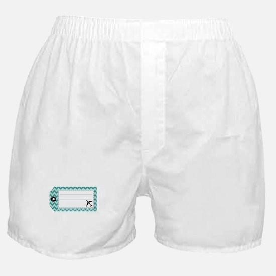 Luggage Tag Boxer Shorts