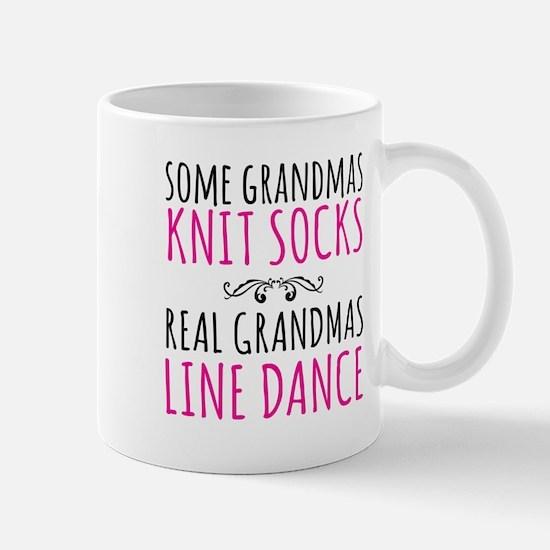 Real Grandmas Line Dance Mugs