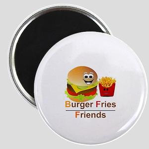 BURGER FRIES FRIENDS - BFF Magnet