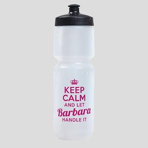 Keep Calm Barbara Sports Bottle
