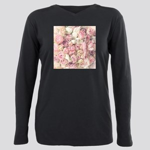 Roses Plus Size Long Sleeve Tee