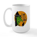 I am BOO-tiful Large Mug
