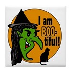 I am BOO-tiful Tile Coaster