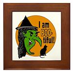 I am BOO-tiful Framed Tile