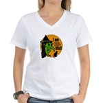 I am BOO-tiful Women's V-Neck T-Shirt