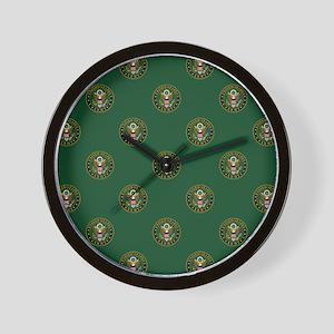 U.S. Army: Army Symbol (Green) Wall Clock