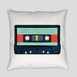 Indigo Cassette Everyday Pillow