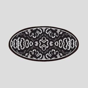 Paris vintage black lace Patch