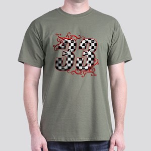 RaceFashion.com 33 Dark T-Shirt
