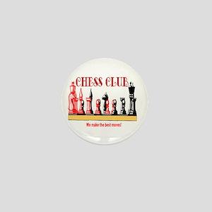 Chess Club Mini Button